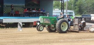 Saturday, August 12th<br>Antique Tractor Pull
