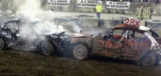 Friday, August 17th<br>Demolition Derby